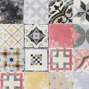 PATCHWORK MIX HERITAGE 25x25