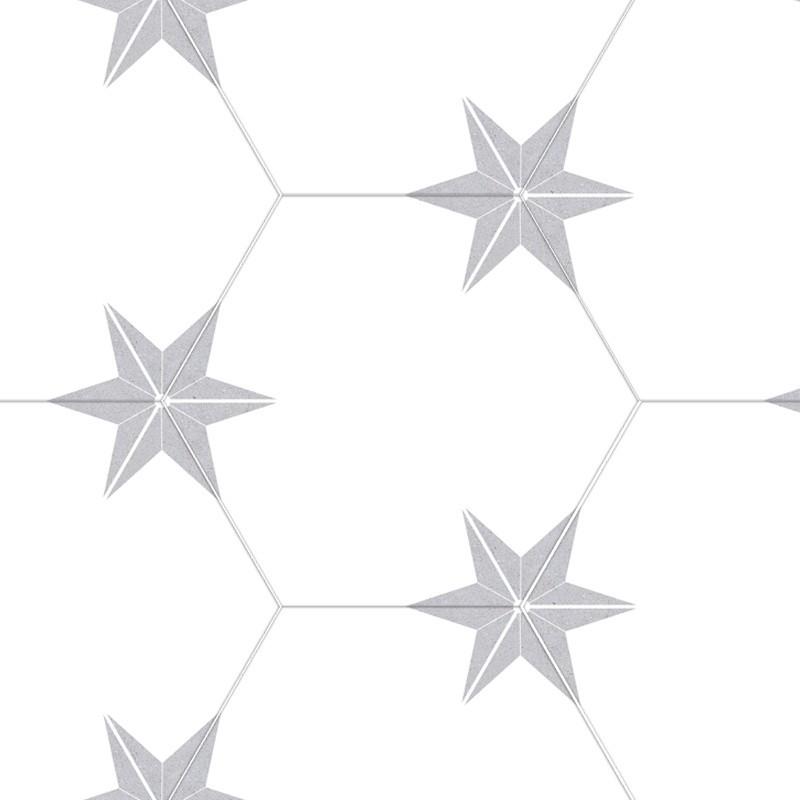 PORCELANICO STAR GREY 22X25